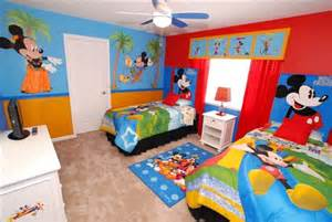 Mickey mouse clubhouse bedroom for your lively kids mickey mouse