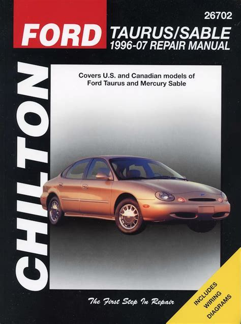how to download repair manuals 1996 ford f series free book repair manuals ford taurus mercury sable repair manual 1996 2007 chilton 26702