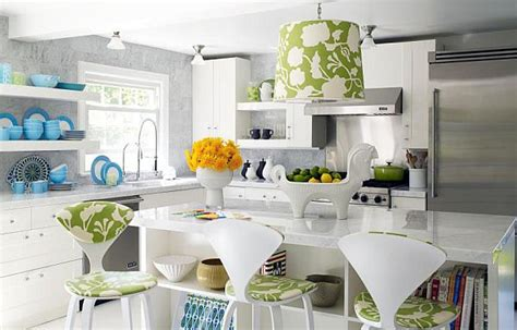 Flower Kitchen by How To Use Floral Prints Tastefully