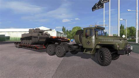 ural   truck euro truck simulator  mods