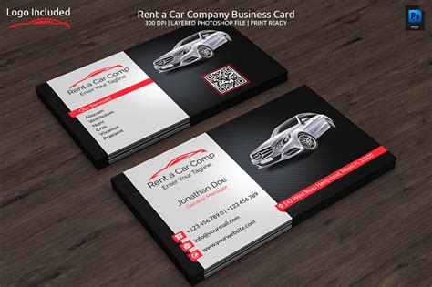 business card sle template rent a car business card business card templates on