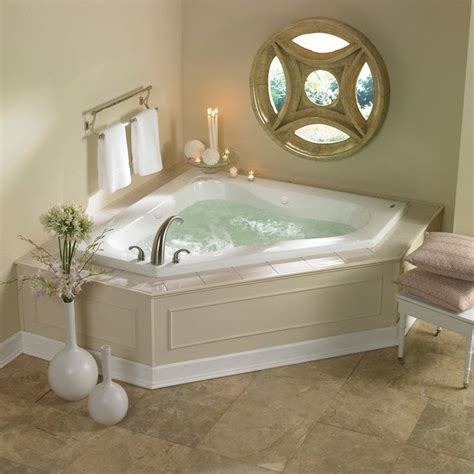 corner bathtub with jets almond 60 quot x 60 quot espree corner whirlpool bathtub with 12