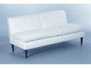 armless sofa brompton fixed back armless sofa designcurial