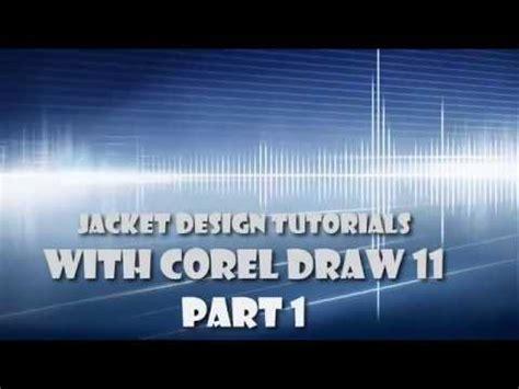tutorial desain jaket jacket design tutorials part 1 of 3 youtube