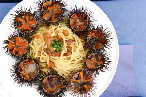 cucinare ricci di mare spaghetti con polpa di ricci di mare camin vattin