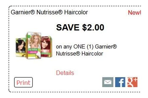 garnier hair dye coupons 2018