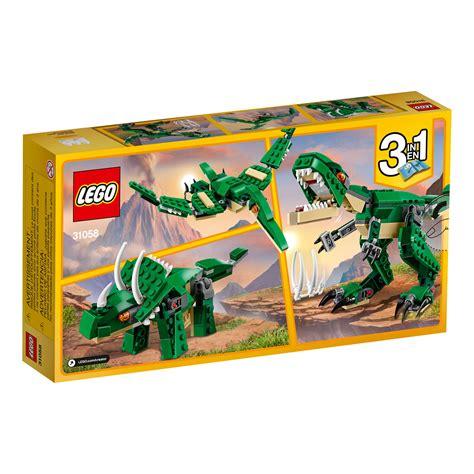Na Hasna Ungu 3in1 Set lego creator mighty dinosaurs 31058 building kit toys