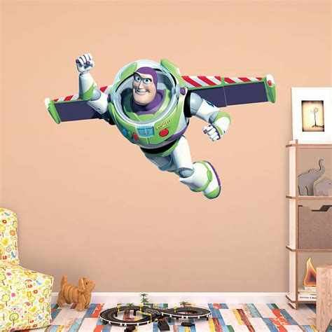 buzz lightyear wall sticker buzz lightyear