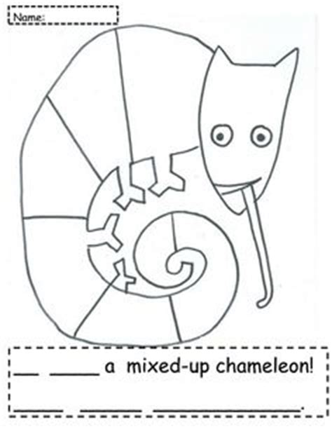 chameleon coloring page pdf 1000 images about mixed up chameleon on pinterest