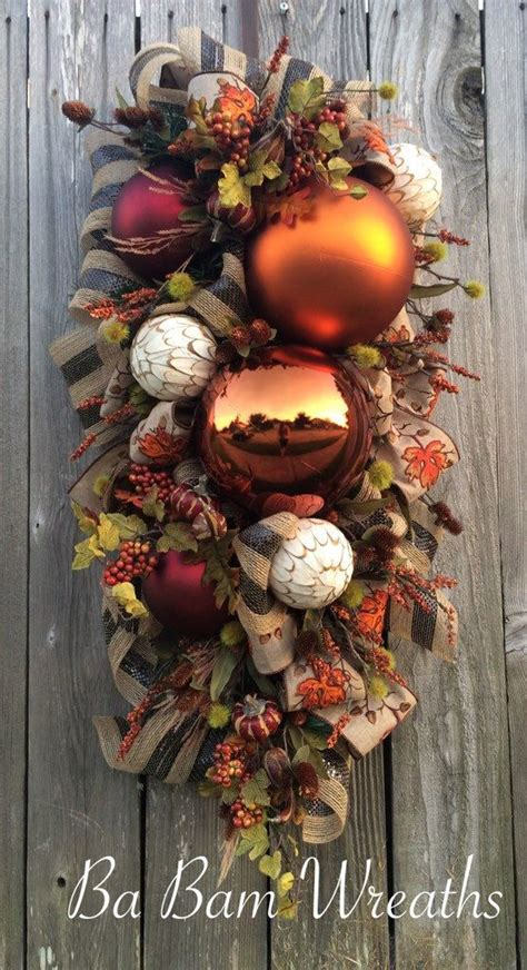 swags wreaths best 25 fall swags ideas only on fall wreaths