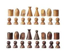 man ray chess set replica italian good versus evil ivory set and chessboard replica