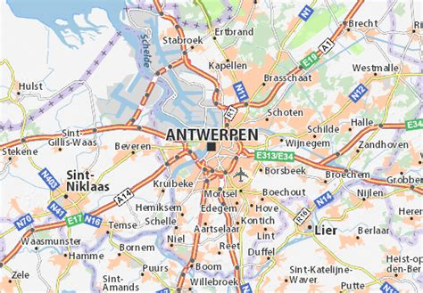 antwerp world map collection map of antwerp emaps world