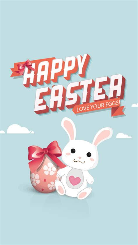 wallpaper iphone 6 easter happy easter rabbit the iphone wallpapers