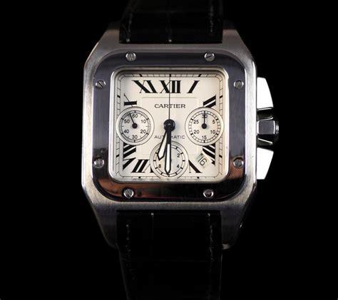 Cartier Santos 100xl cartier santos 100 xl chronograph ss w20090x8 rrp 163 5 950