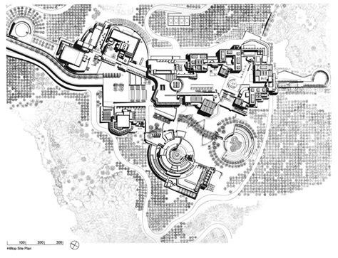 Auditorium Floor Plans by The Getty Center Richard Meier Amp Partners Architects