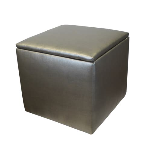 college dorm storage ottoman storage ottoman metallic dorm decor