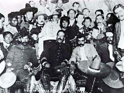 en la revolucion mexicana pancho villa fotograf 237 as de emiliano zapata
