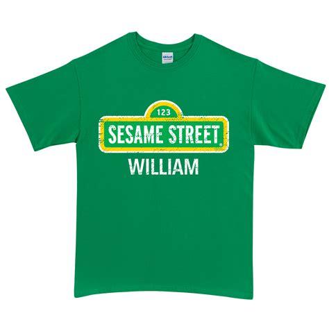 Sesame Shirt sesame sign green t shirt tv s box