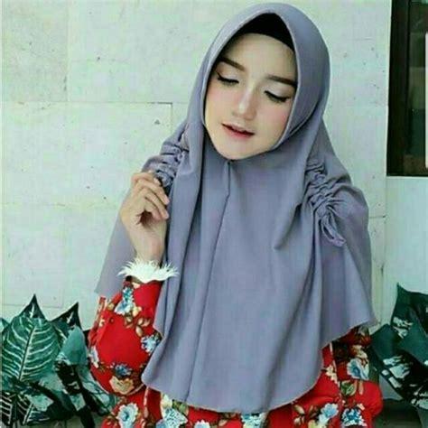 jilbab instan pet serut jilbab syari dalaman jilbab