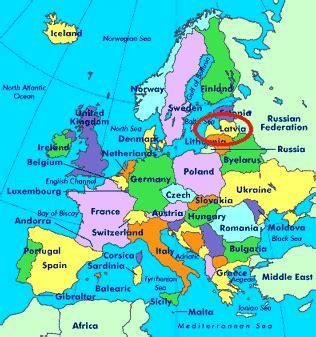 latvia on the world map location of jsc alfa