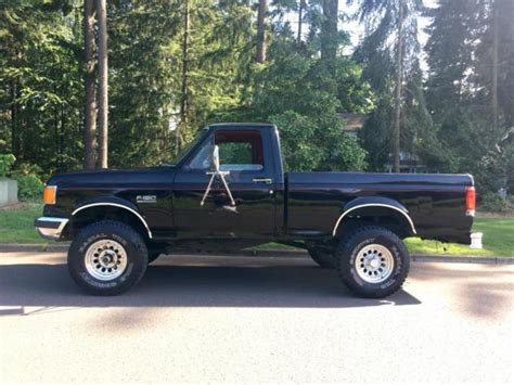 1989 ford f150 4x4 lifted