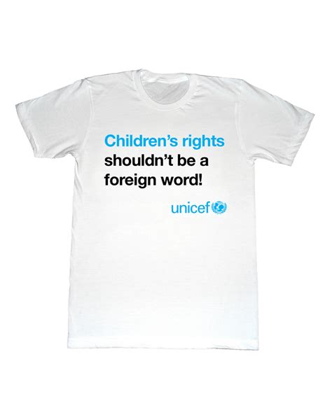 Unicef T Shirt talking tshirts your unseen social media ideas for child