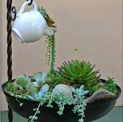 Garden Teapot Planter by 25 Best Ideas About Teapot Crafts On Garden