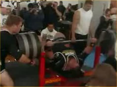 max bench press world record fat free chocolate