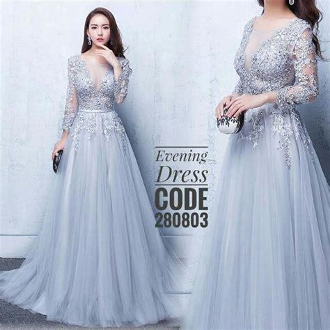 Dress Wanita Enjoy dress lace tunang nikah baju pengantin fesyen wanita