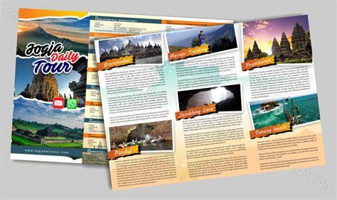 jasa desain brosur di palembang desain brosur wisata jasa desain grafis jogja