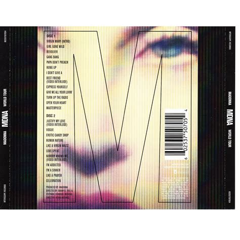mdna world tour cd2 madonna mp3 buy tracklist