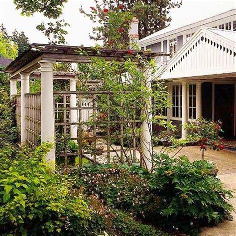 kleine pergola designs pergola bois pour plantes grimpantes