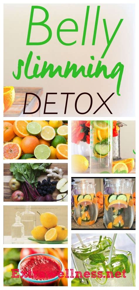 Diy Detox Water To Burn Belly by Belly Slimming Detox Recipe Detox