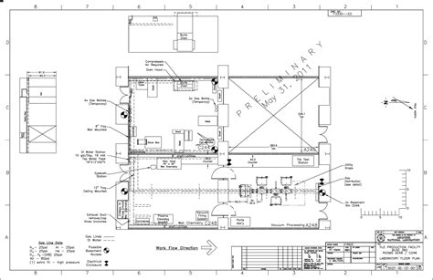 production floor plan psec image library