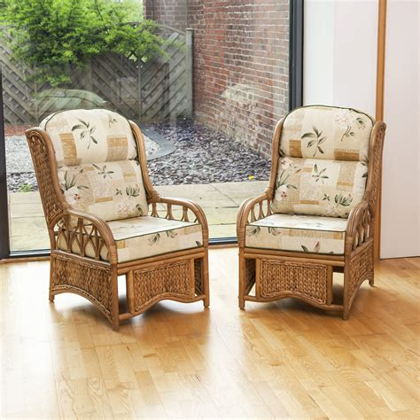 conservatory furniture 2 penang conservatory furniture armchairs with luxury cushions ebay