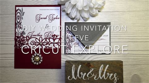 Diy Wedding Invitations Cricut