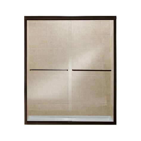 Sterling Finesse 59 5 8 In X 70 1 16 In Semi Frameless Sterlingplumbing Shower Doors