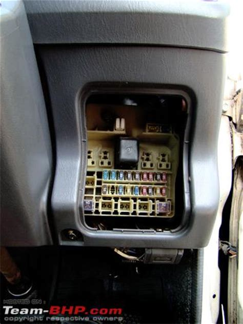 toyota innova fuse box wiring diagram with description