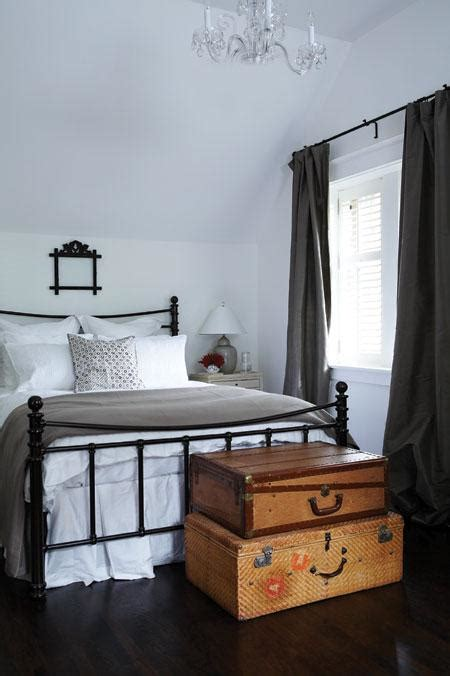 iron bed bedroom 2 white bedrooms with dark antique iron beds tudorks