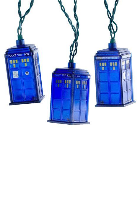 Doctor Who Tardis Christmas Light Set Doctor Who Lights