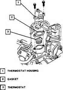 need diagram for 2004 alero thermostat