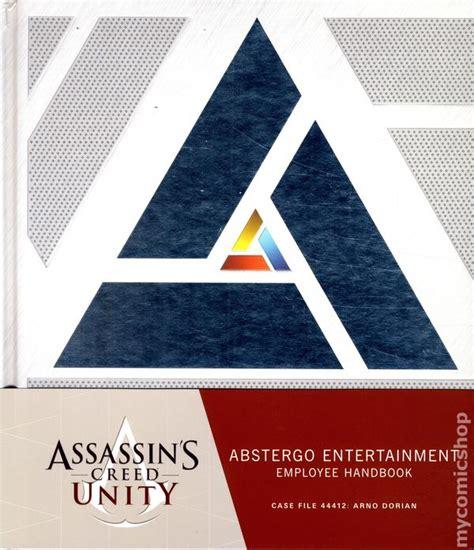 assassins creed unity abstergo entertainment employee handbook libro e descargar gratis unity comic books issue 1