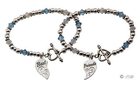 best friends bracelets with best friends charms