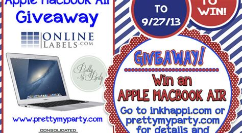 Free Macbook Air Giveaway - giveaway archives page 2 of 2 inkhappi