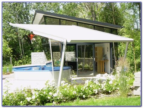 freestanding awnings free standing awning for deck decks home decorating