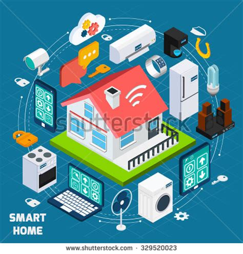 what is smart home technology internet of things stock photos images pictures