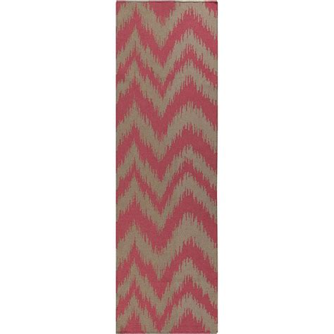 coral runner rug surya frontier coral 2 ft 6 in x 8 ft indoor rug runner ft519 268 the home depot
