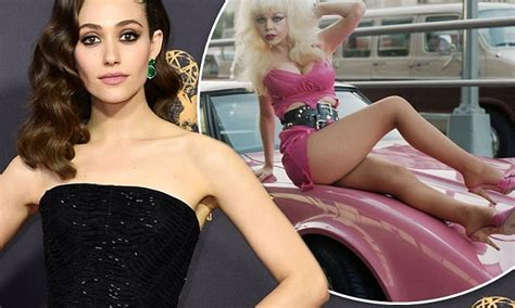 emmy rossum angelyne emmy rossum to play angelyne in new tv series daily mail