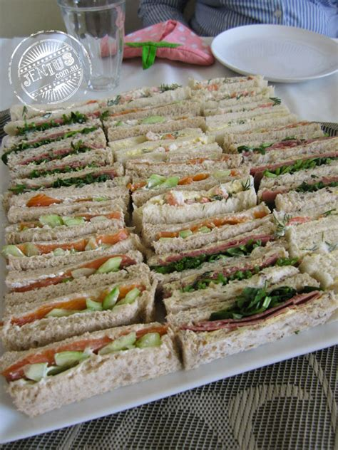 afternoon tea sandwiches i ate my way through
