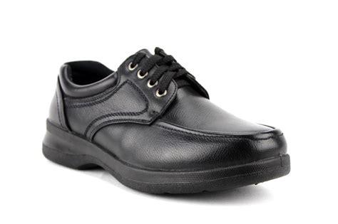 s black brown restaurant work shoes lace up slip